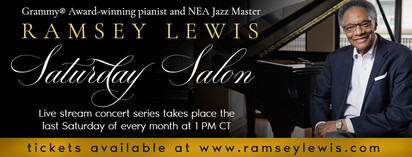 Music Icon Ramsey Lewis Launches Online Concerts on StageIt