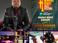 EUGE GROOVE SET TO KICK OFF THE NEWPORT BEACH JAZZ FESTIVAL JUNE 2ND