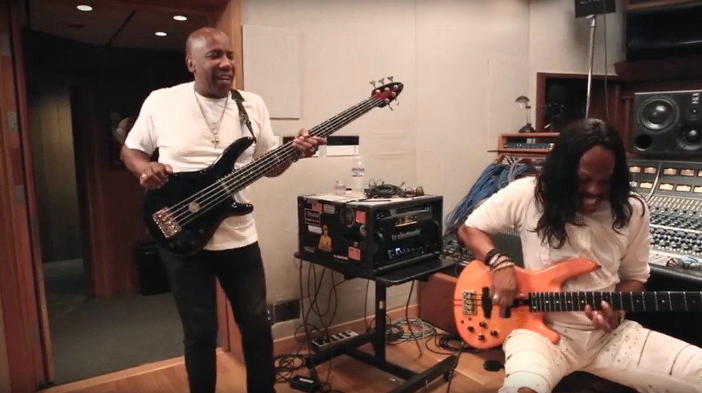 Behind the scenes with Nathan East
