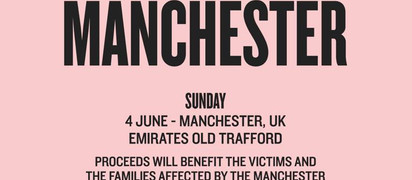 STARS JOIN ONE MANCHESTER BENEFIT SHOW