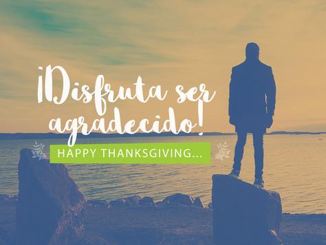 ¡Disfruta ser agradecido!