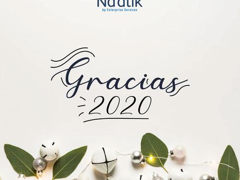 ¡Gracias 2020, bienvenido 2021!
