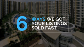 6 ways we got your listings sold FAST