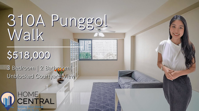 Pristine 4-Room Unit Within the Heart Of Thriving Punggol   $518K   Singapore Property Home Tour