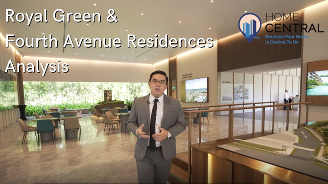 Royal Green And Fourth Avenue Residences: Convenient Living In D10 Singapore   Home Central Analysis