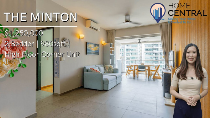 Inside A Spacious 2-Bedder High Floor Corner Unit At The Minton For $1.25M   Singapore Home Tour
