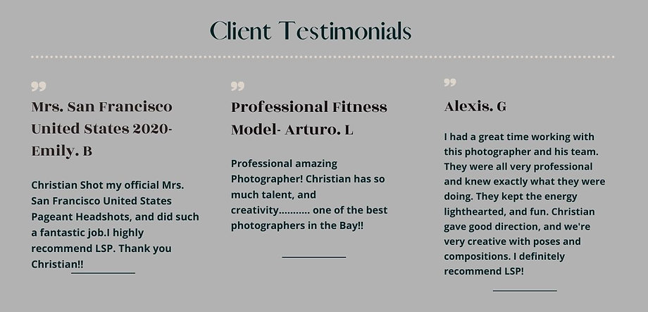 LSP Client Testimonials