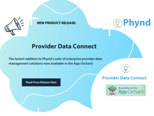 Phynd Announces Provider Data Connect for Epic App Orchard