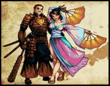 Samurai & Geisha