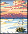 White Sands Cross Stitch Pattern