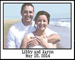 Libby & Aaron Cros Stitch Pattern