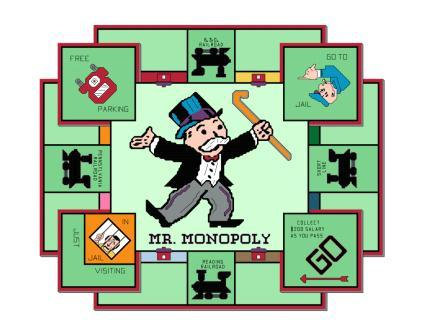 Mr Monopoly Cross Stitch Pattern