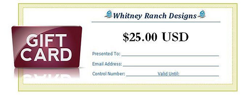 $25.00 (USD) Gift Card