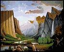 Yosemite Glory Cross Stitch Pattern