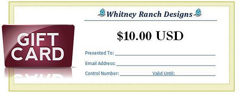 $10.00 (USD) Gift Card