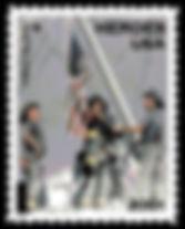 9/11 Postage Stamp Cross Stitch
