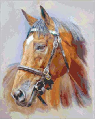 Elegant Horse Cross Stitch Pattern