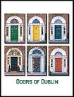 Door of Dublin Cross Stitch Pattern