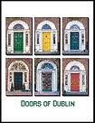 Door of Dublin Cross Stitch Pattern