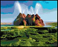 Fly Ranch Geyser Cross Stitch Pattern