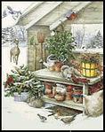 Winter Delight Cross Stitch