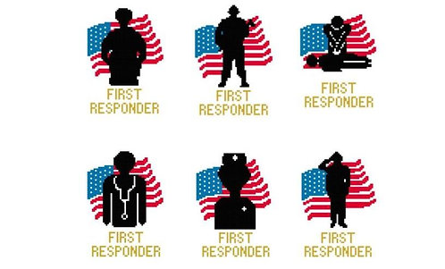 First Responder Greeting Card