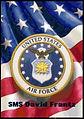 Custom Air Force Logo Cross Stitch