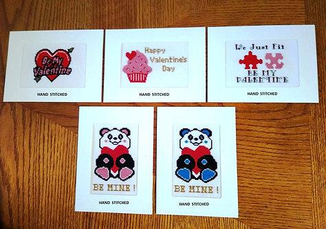 Valentine - Stitched Card