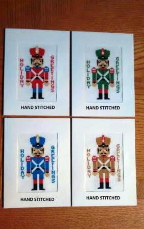 Toy Soldier - Stitched Card