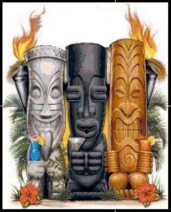 Tiki Heads