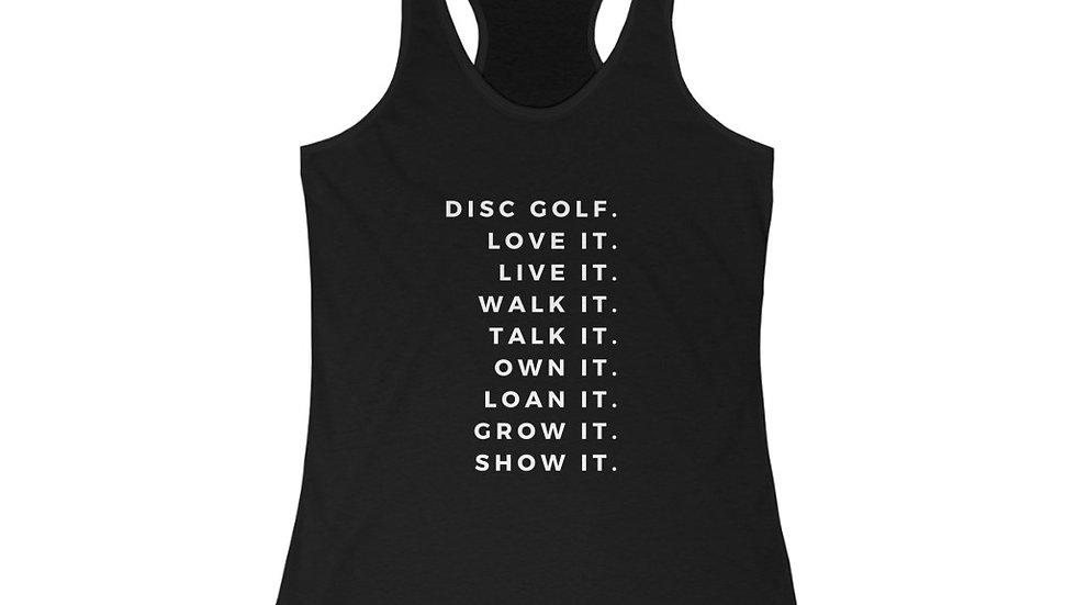 Disc Golf Life - Women's Disc Golf Tank