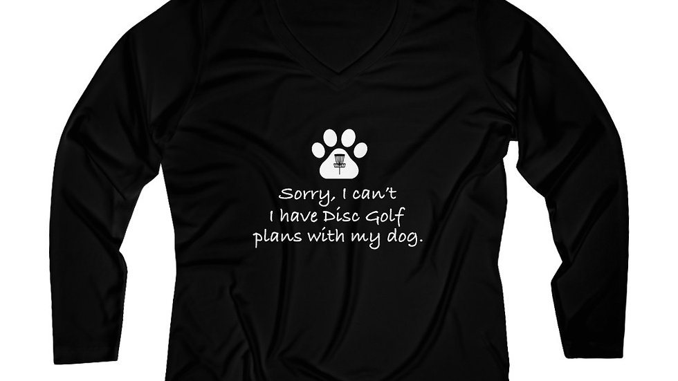 Sorry, I can't - Performance V-neck Tee