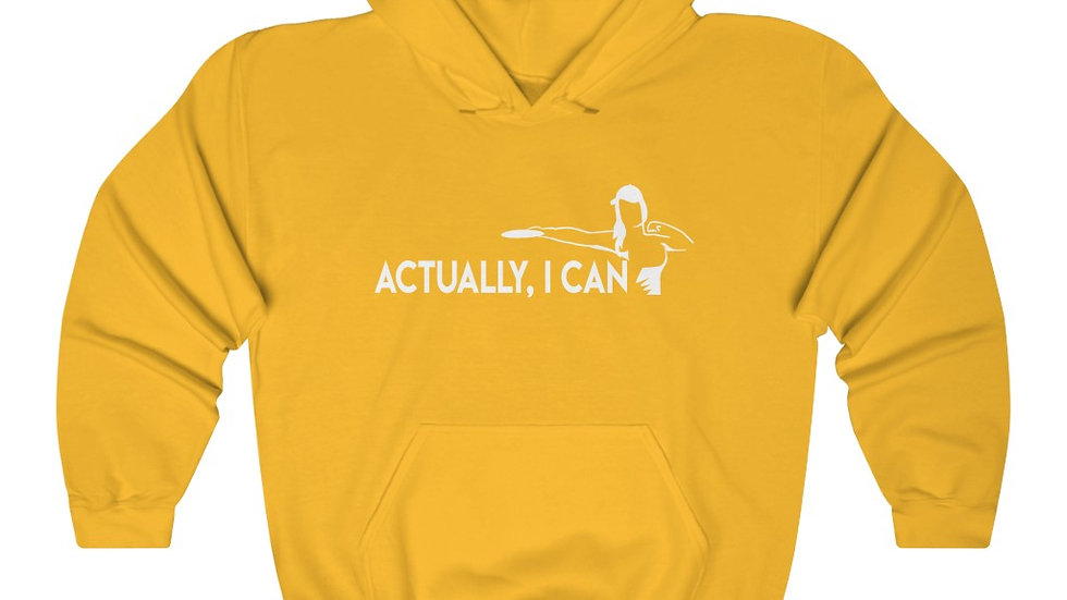 Actually I can - Hooded Sweatshirt