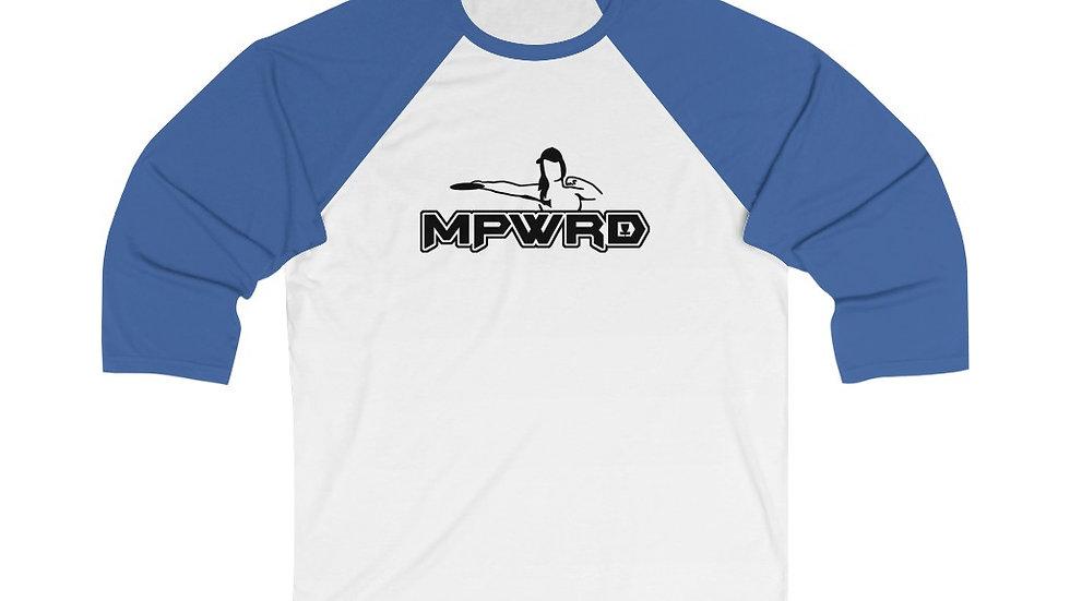 MPWRD - Unisex 3/4 Sleeve Baseball Tee