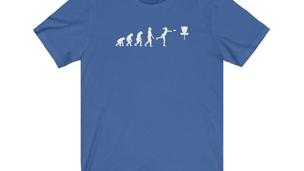 Mary's Fav - Disc Golf Evolution Tee