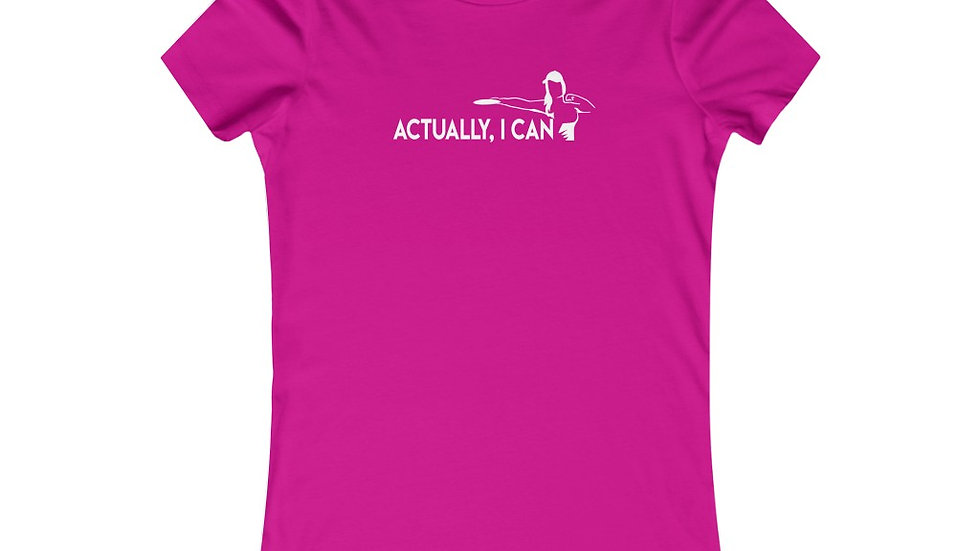 Actually I can - Favorite Tee