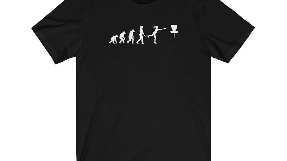 Women's Disc Golf Evolution - Jersey Short Sleeve Tee