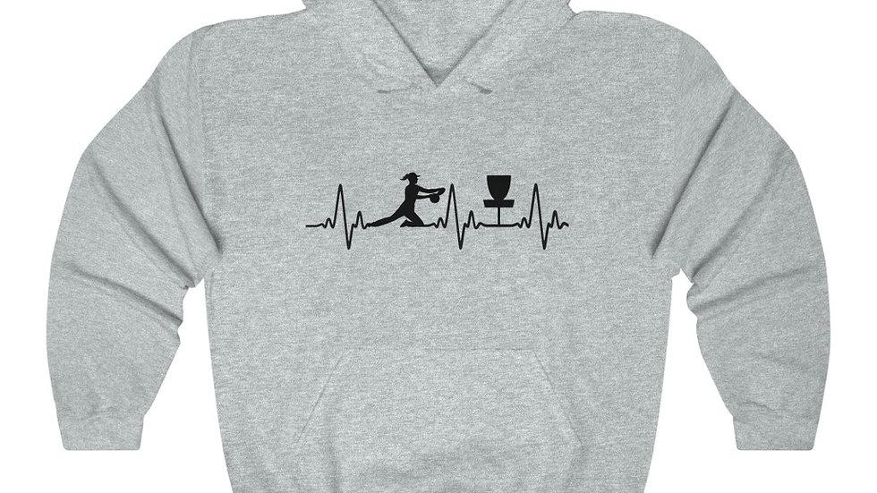 Heart Beat - Hooded Sweatshirt