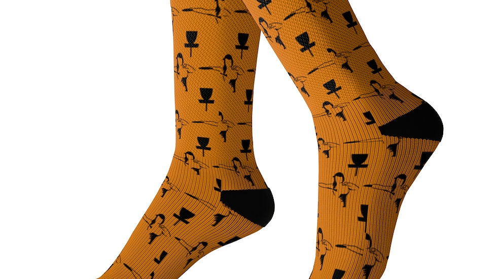 Orange MPWRD - Sublimation Socks