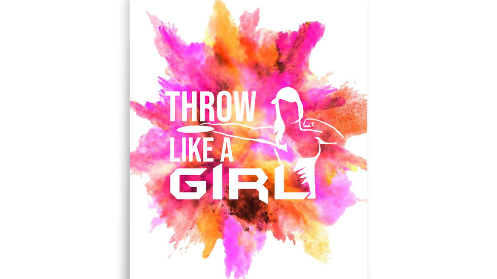 Throw Like A Girl - Poster