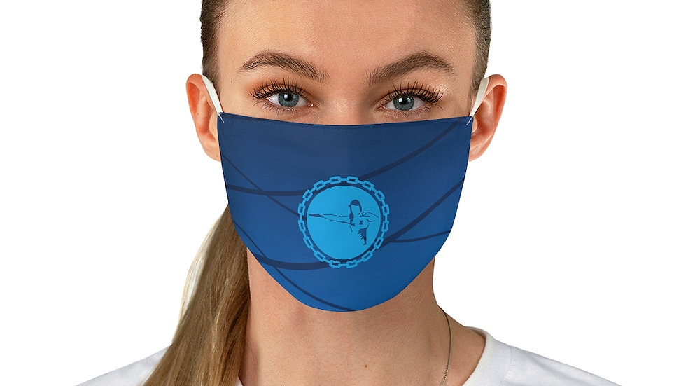 MPWRD Blue Fabric Face Mask