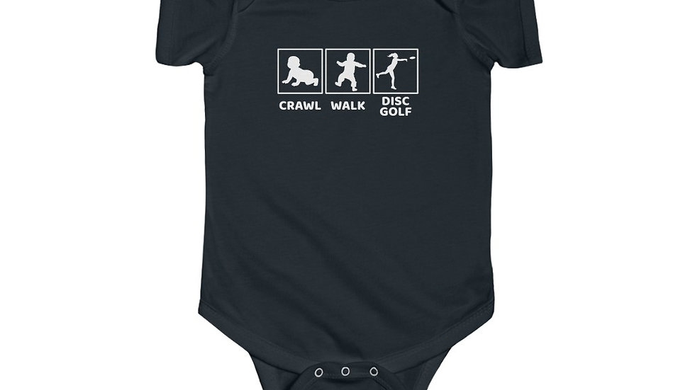 Meridith's Fav - Crawl - Walk - Disc Golf - Infant Bodysuit