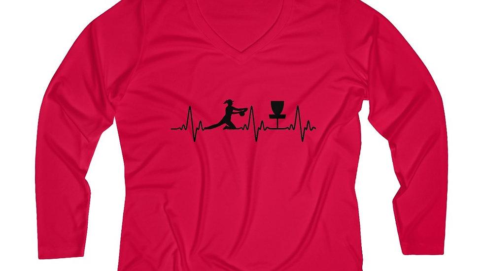 Heart Beat - Performance V-neck Tee