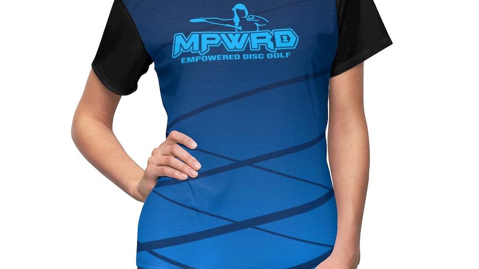 Blue MPWRD - Cut & Sew Tee
