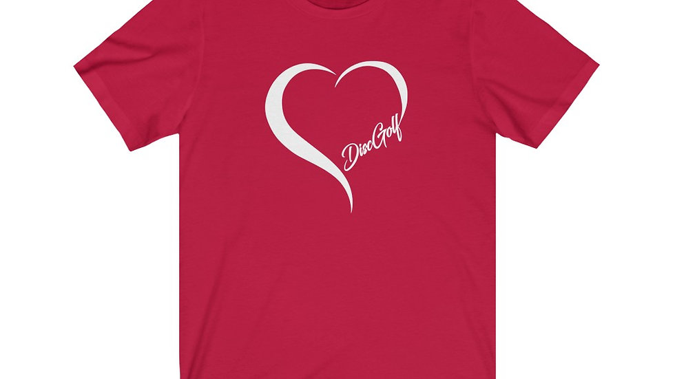 Disc Golf Love - Short Sleeve Tee