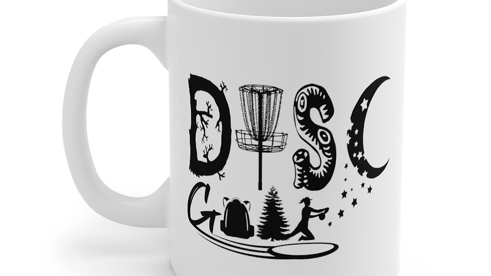 Disc Golf - Mug 11oz