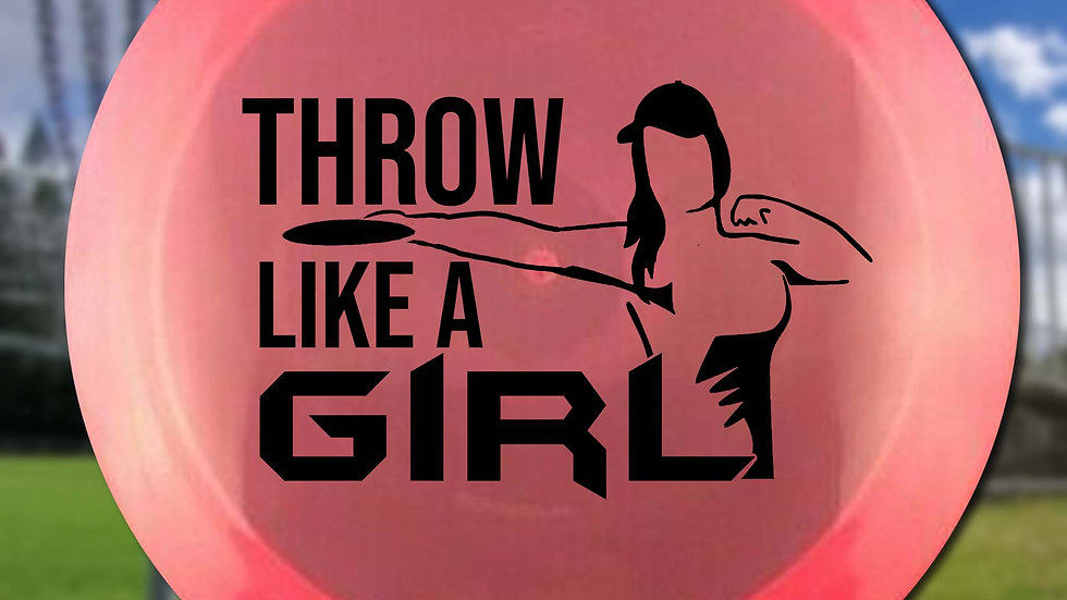 Heidi's Fav Throw Like a Girl Stencil