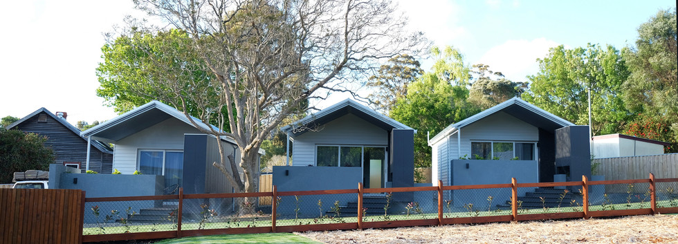 Trio of 'whisky' cabins