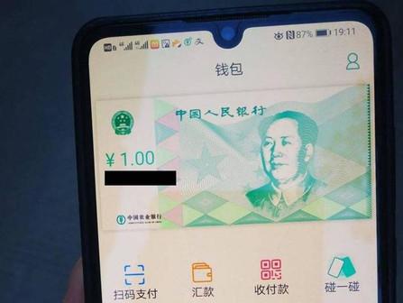 The digital yuan
