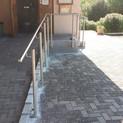 Neuer Sportheim-Eingang